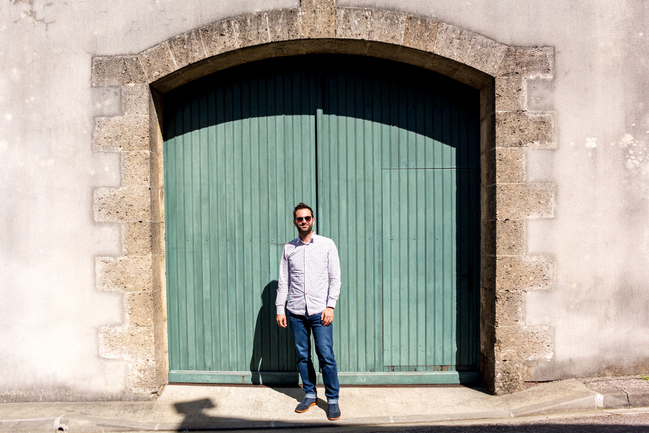 The doors of Medoc region