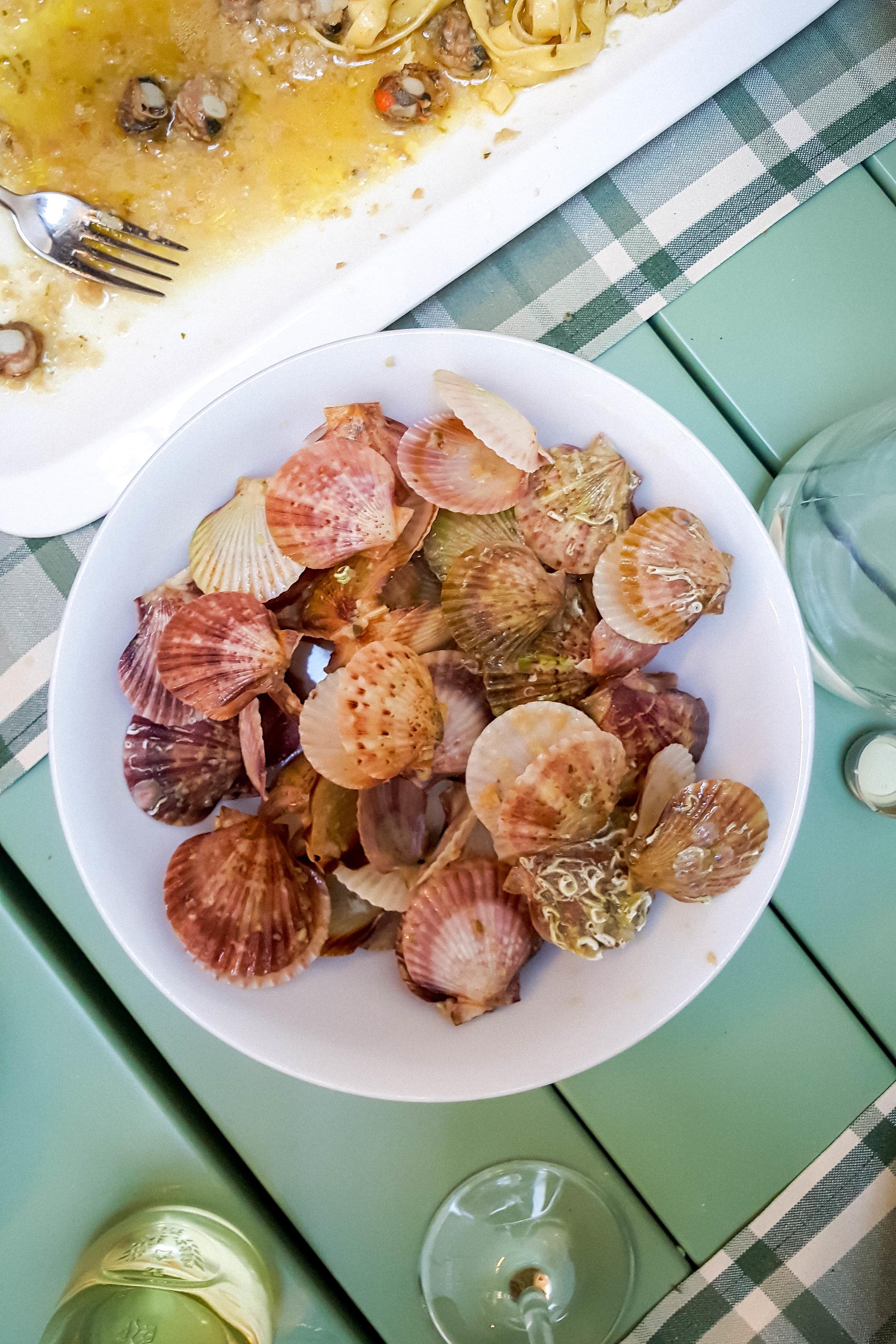 Mussels tagliatelle in Trattoria Vodnjanka, Istria