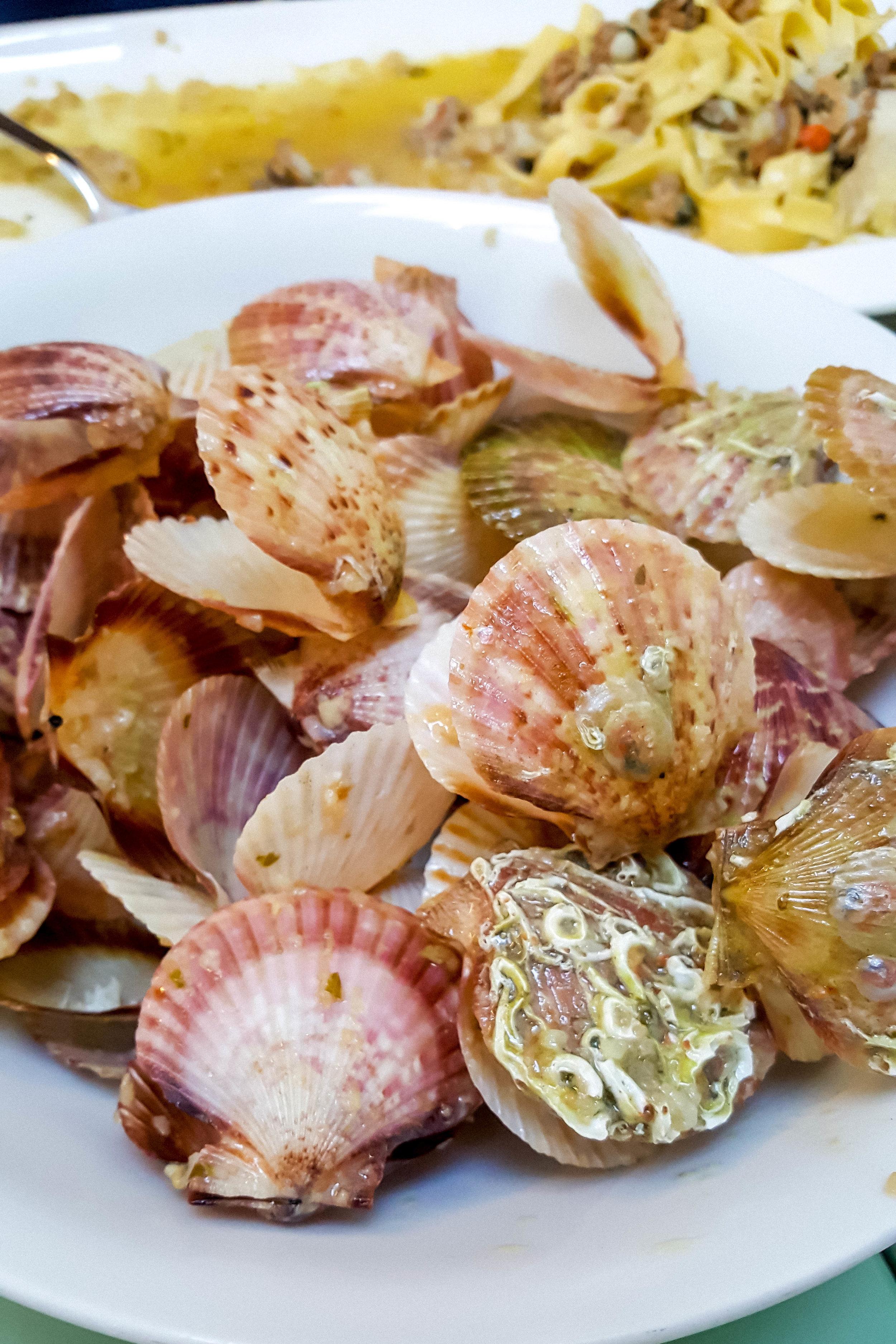 Mussels at Trattoria Vodnjanka, Istria
