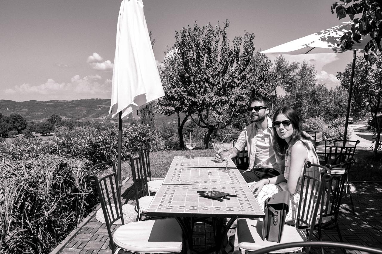 Gin tasting in Istria