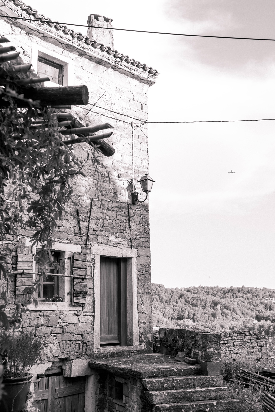 A house in Oprtalj, Istria