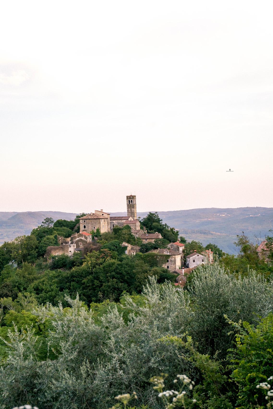 The town of Zavrsje, Istria