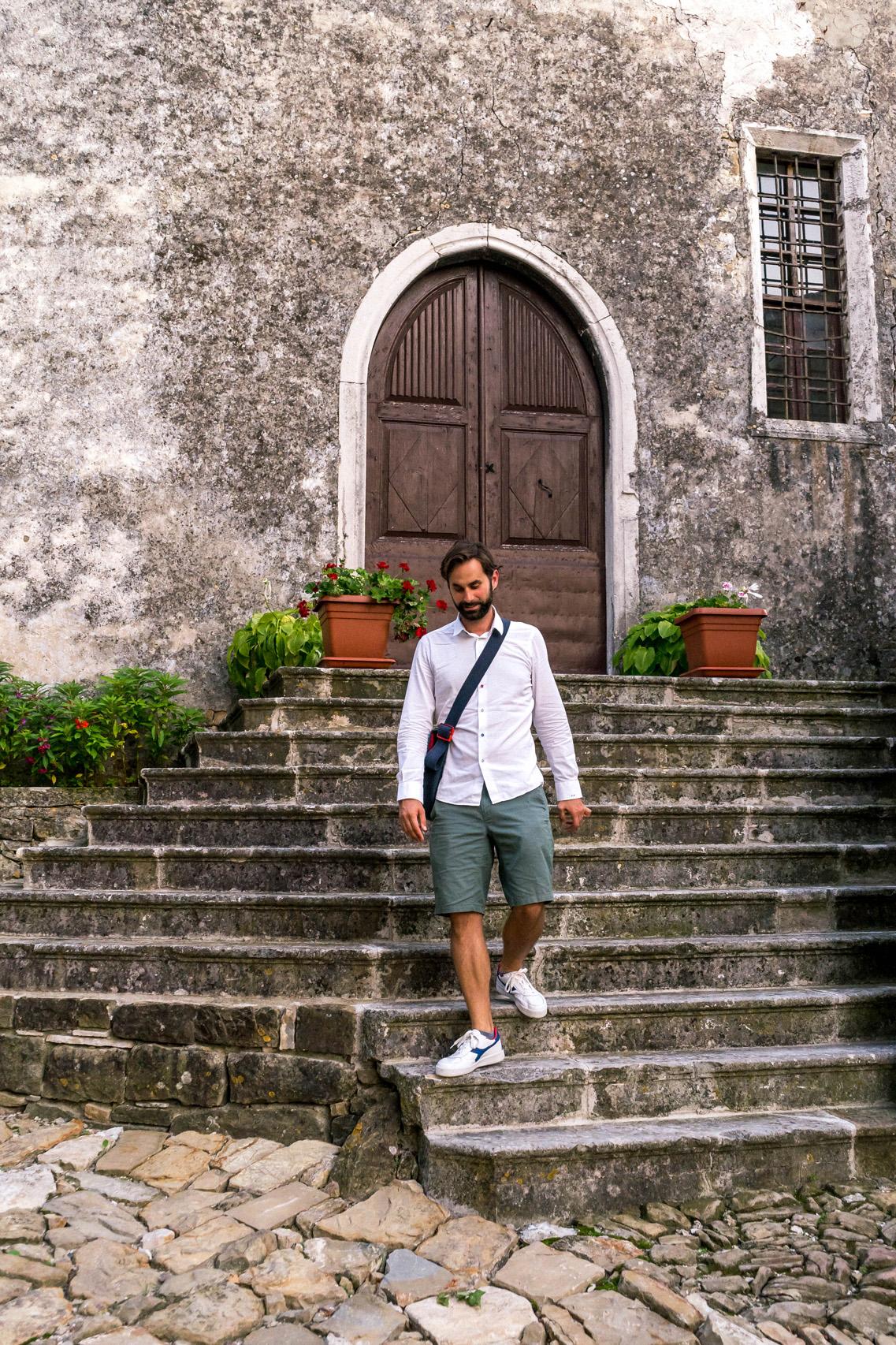 In the sleepy town of Zavrsje, Istria
