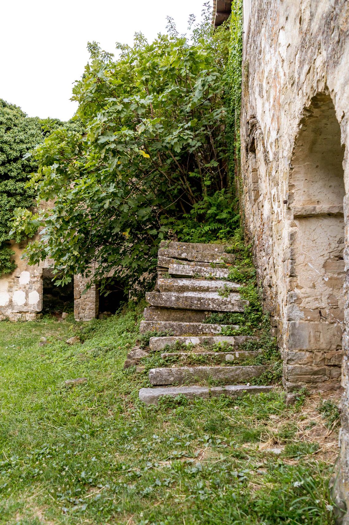 Forgotten town of Zavrsje, Istria