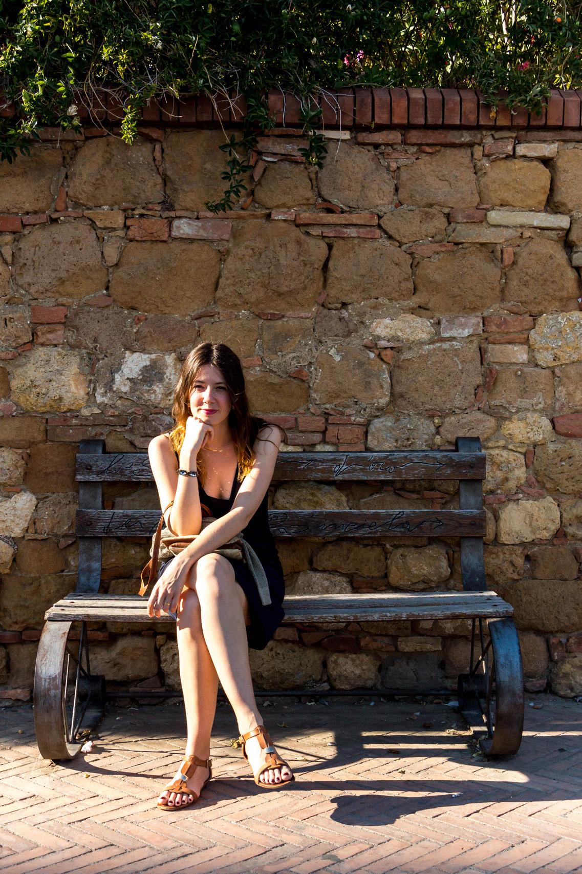 Summer in Pienza, Tuscany