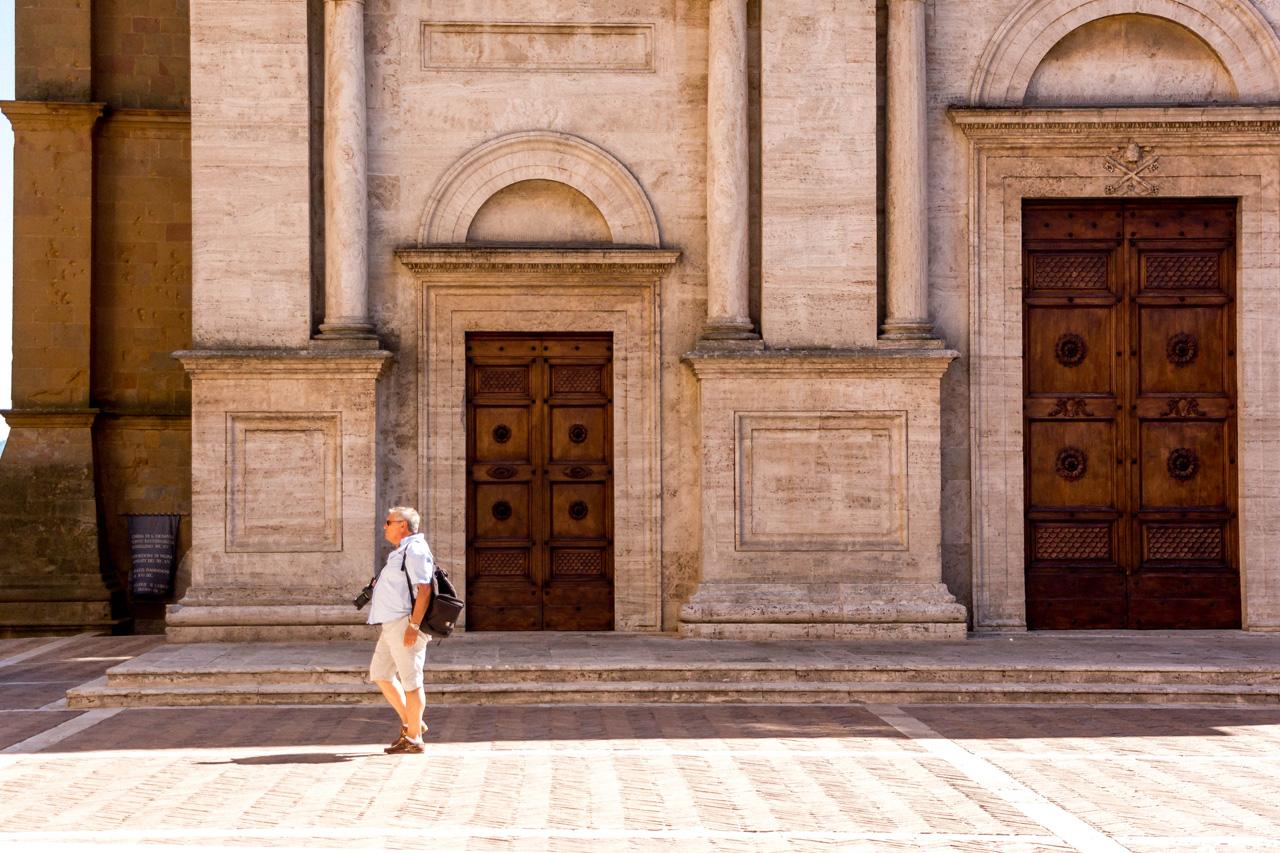 Ideal Renaissance town of Pienza