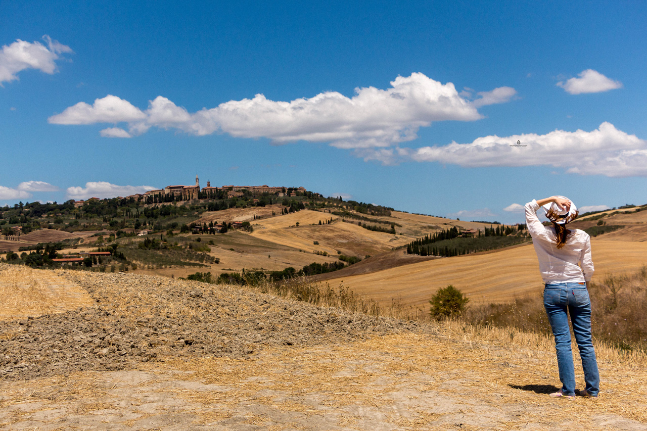 View of Pienza, Tuscany