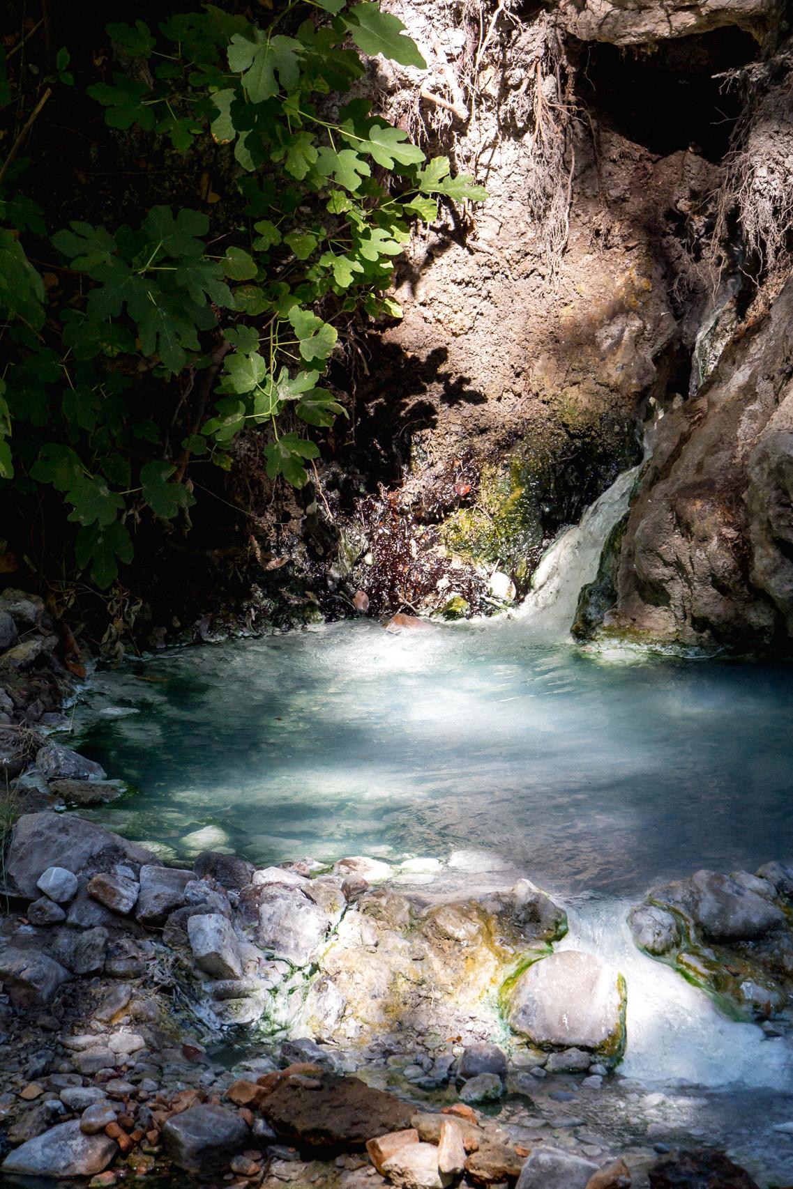 Bagni San Filippo pools