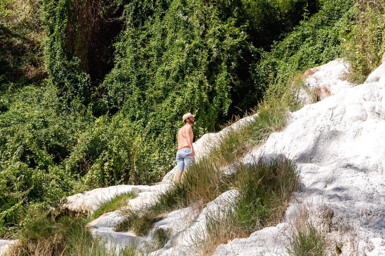 Exploring Bagni San Filippo