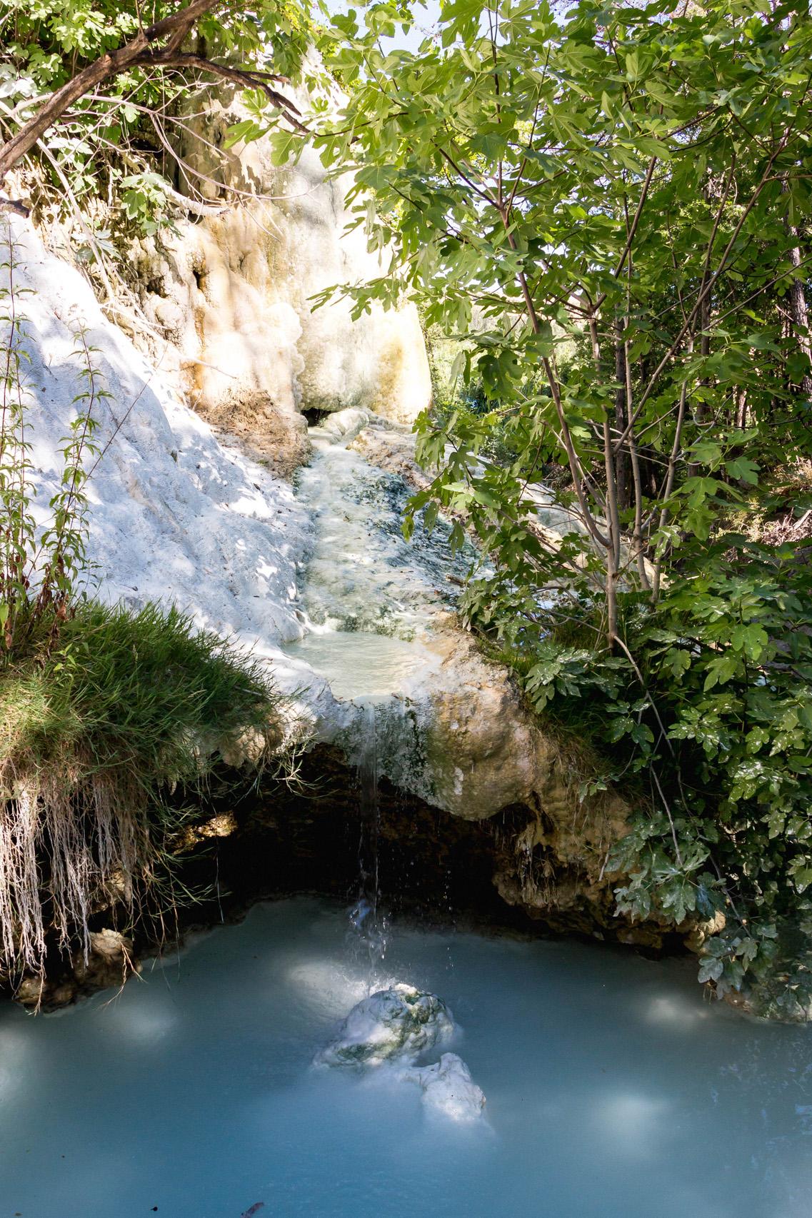 Thermal springs of Bagni San Filippo