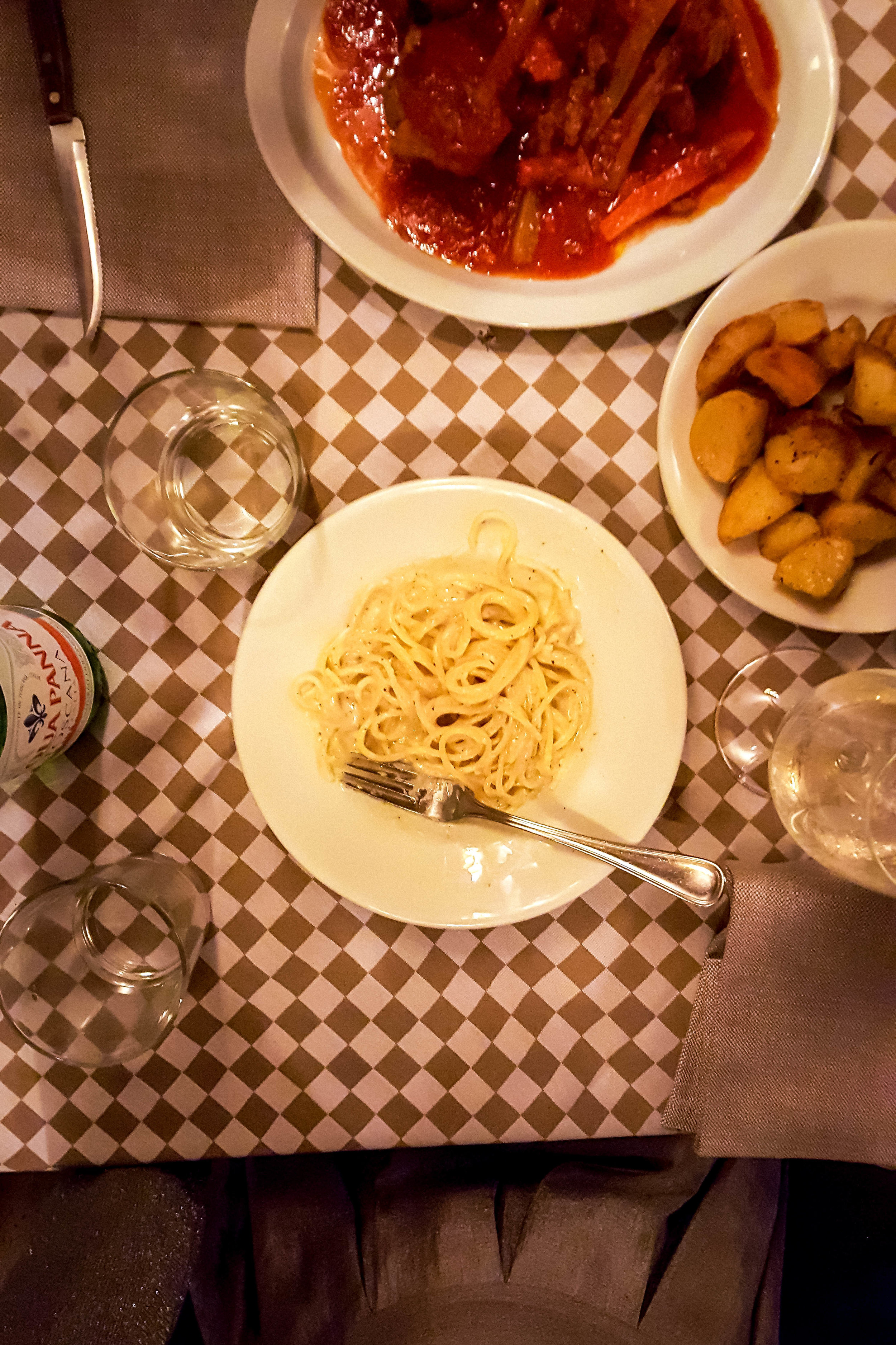 Dinner at Ristorante Matricianella, Rome
