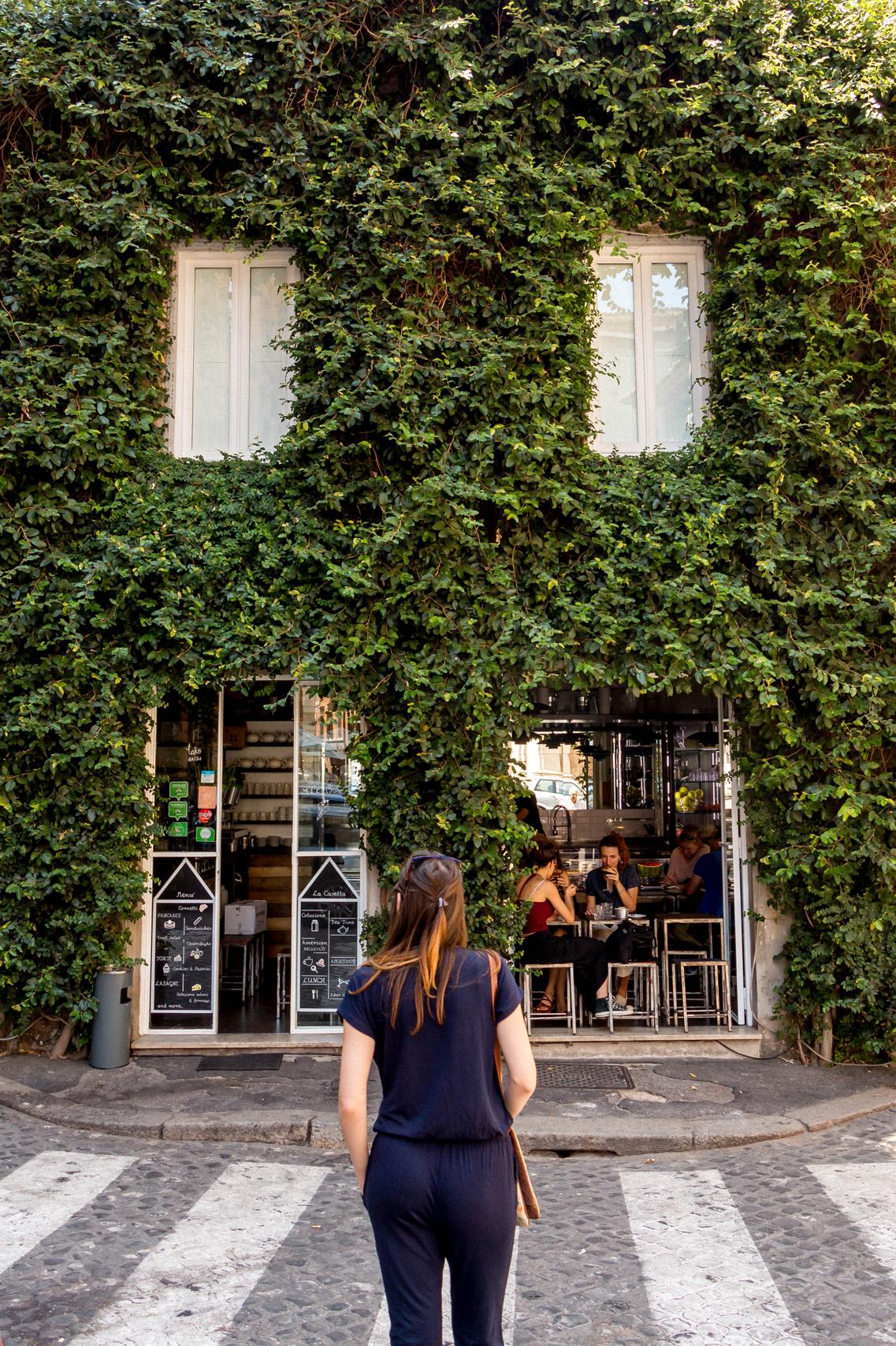 Cute cafe in Monti, Rome