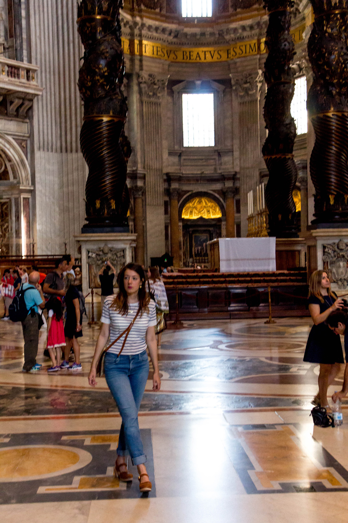 In St. Peter's Basilica, Vatican