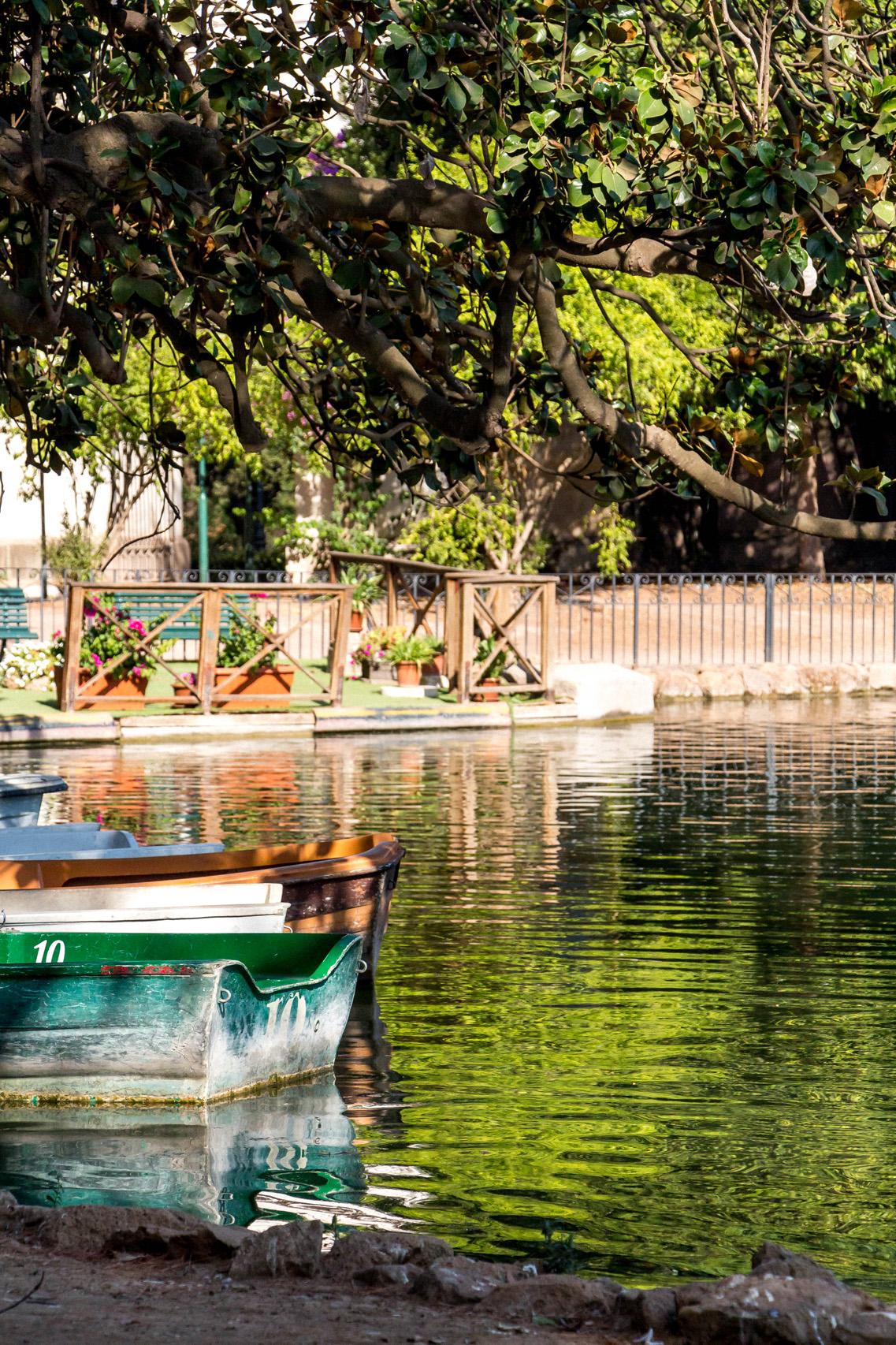 Pond at Villa Borghese Gardens, Rome