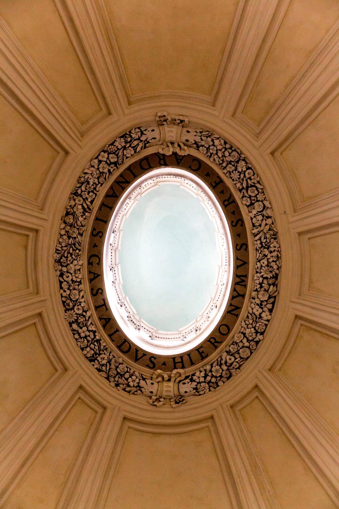 Santa Maria in Montesanto, dome