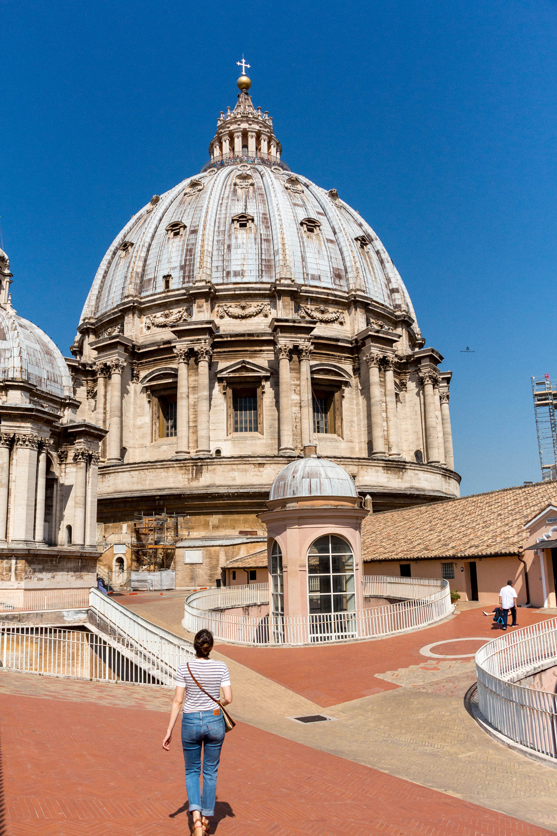 St. Peter's Basilica dome, Vatican