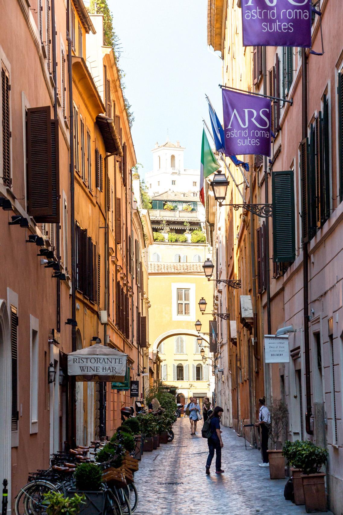 Via dei Greci, Rome