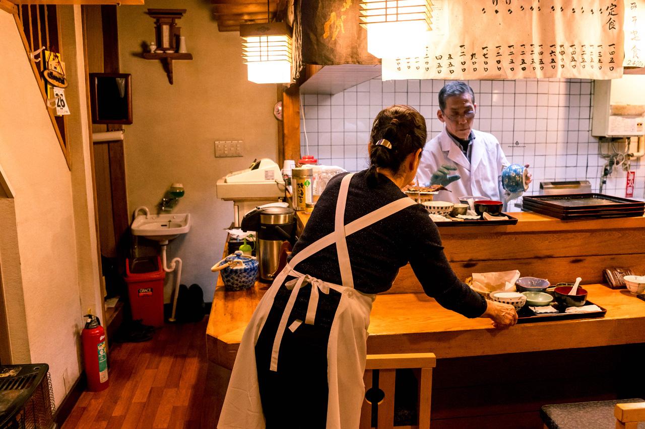 Dinner at Kotaro, Takayama