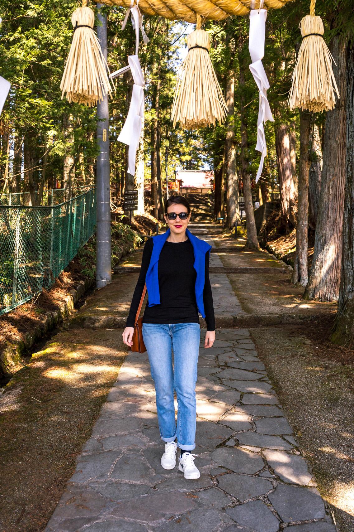 Discovering shrines of Takayama