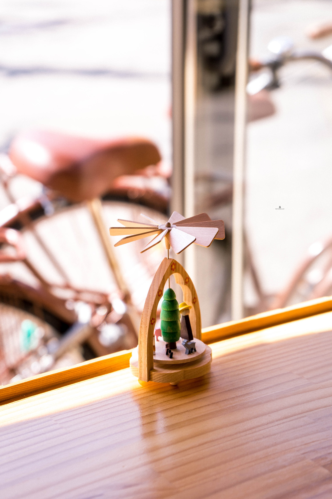 Detail in Kisse Kisse cafe, Takayama