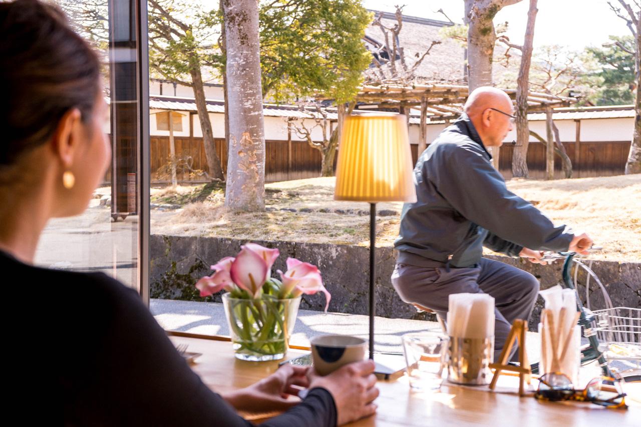 Tea at Kisse Kisse, Takayama