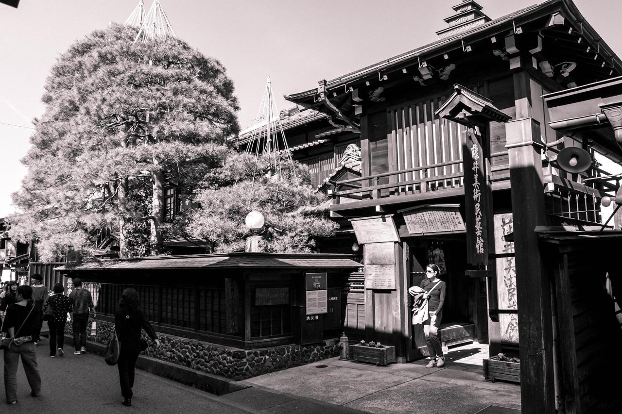 On Sanmachi Suji street, Takayama