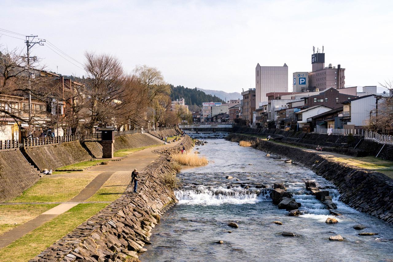 Takayama, Miyagawa river