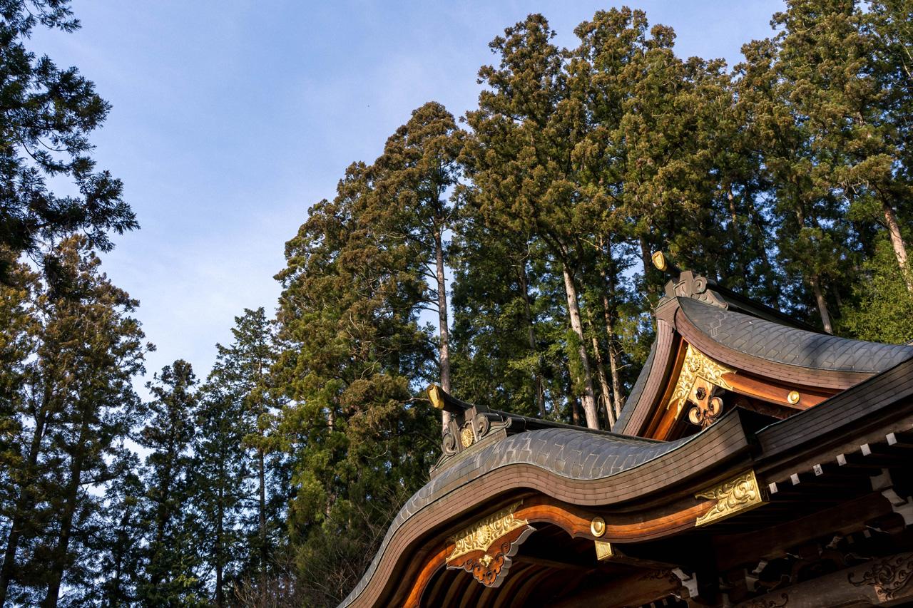 Sakurayama Hachimangu Shrine in Takayama