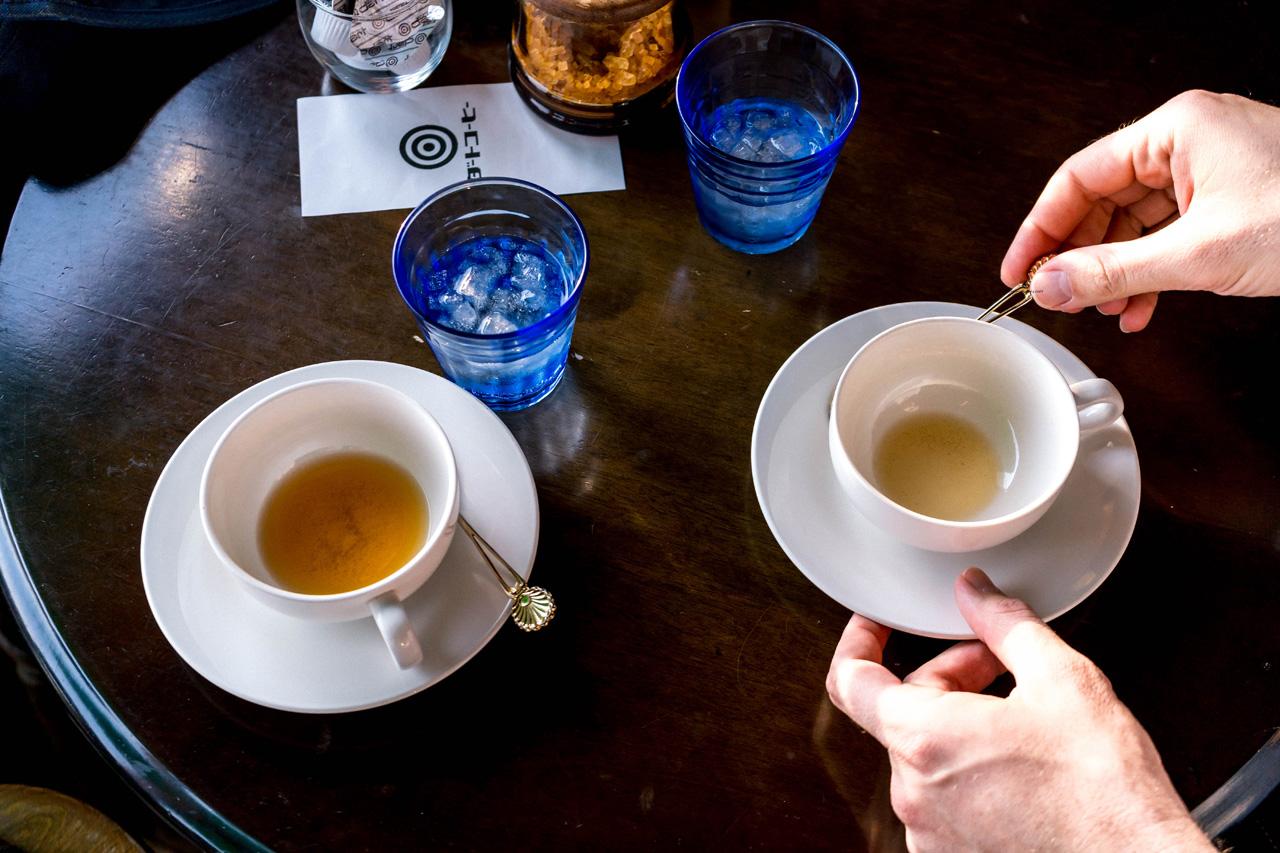 Tea at Ichii, Takayama