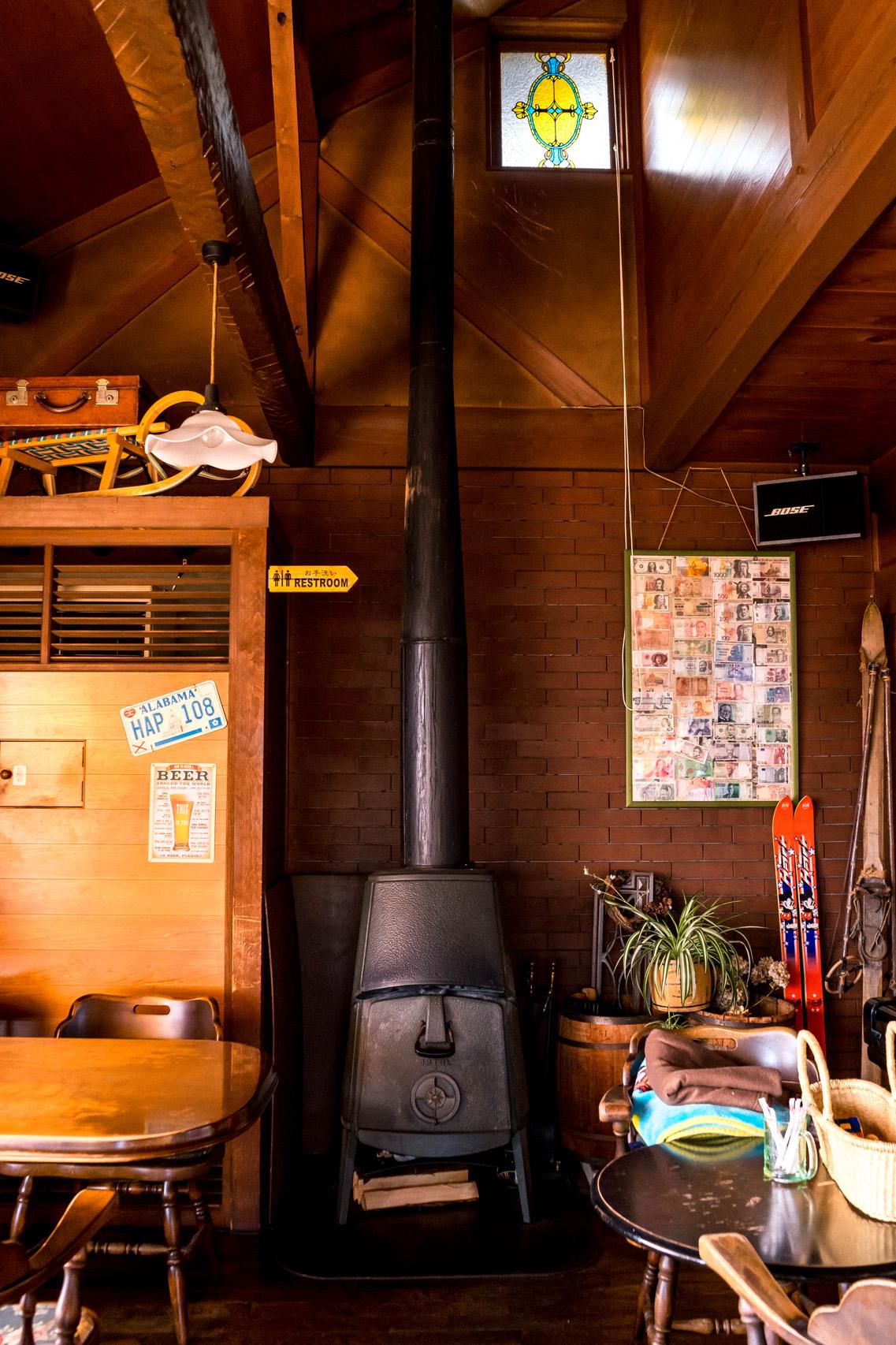 Interior of Ichii cafe, Takayama