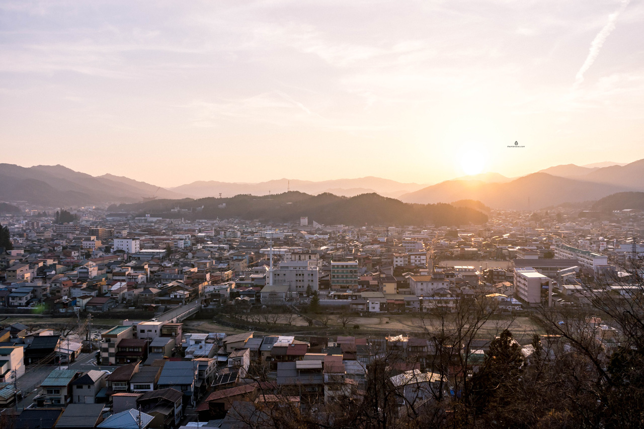 View of Takayama, Japan