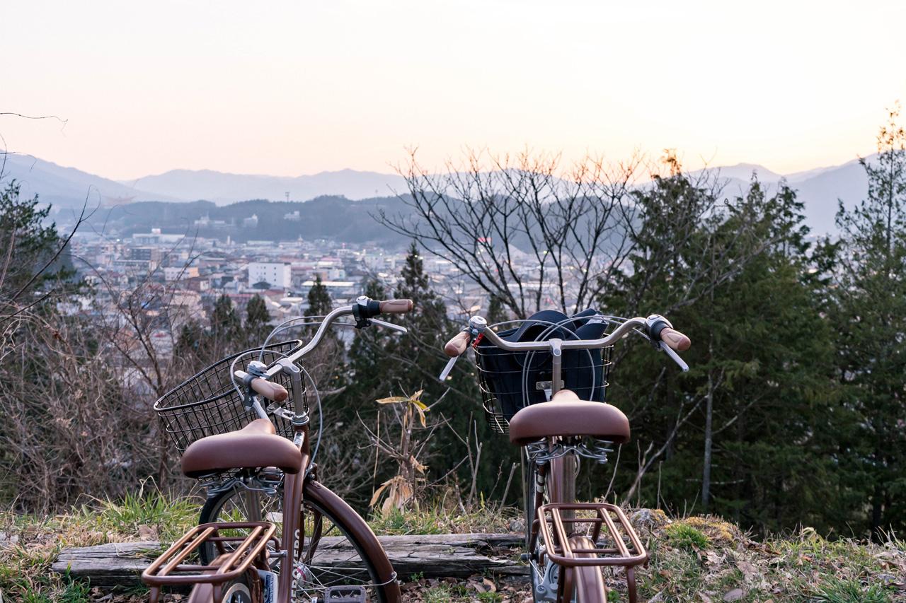 Cycling in Takayama