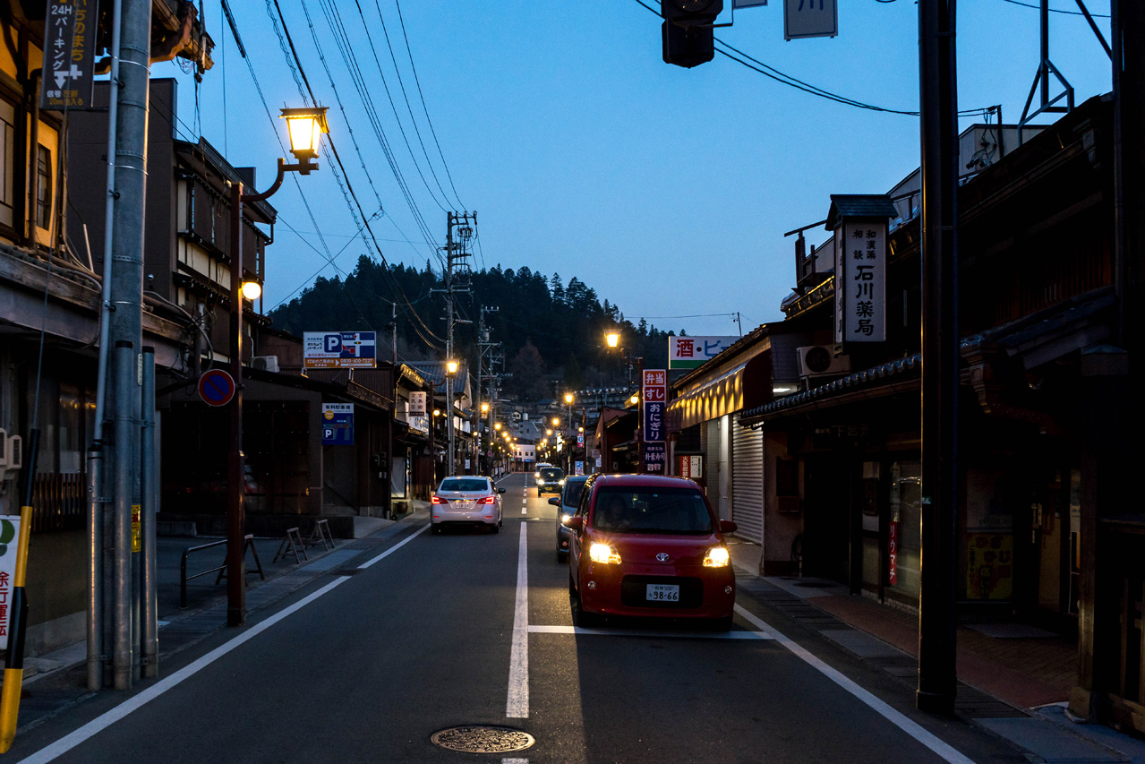 Takayama by night