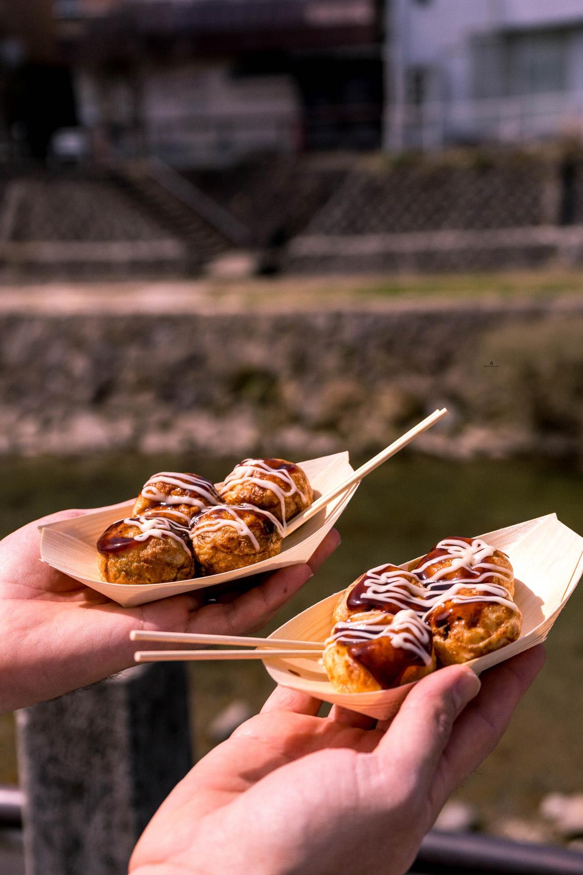 Takoyaki on Miyagawa Morning Market