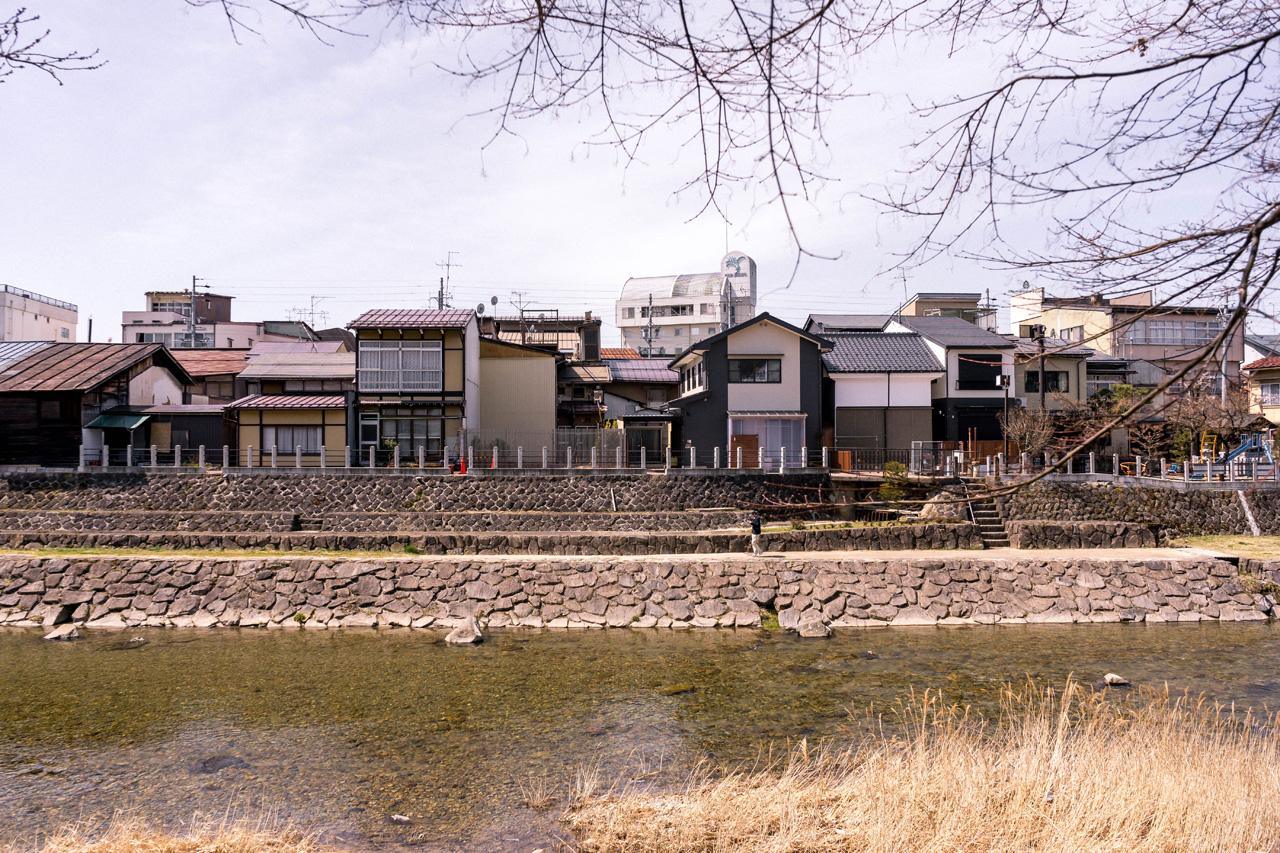 Takayama, by the Miyagawa river
