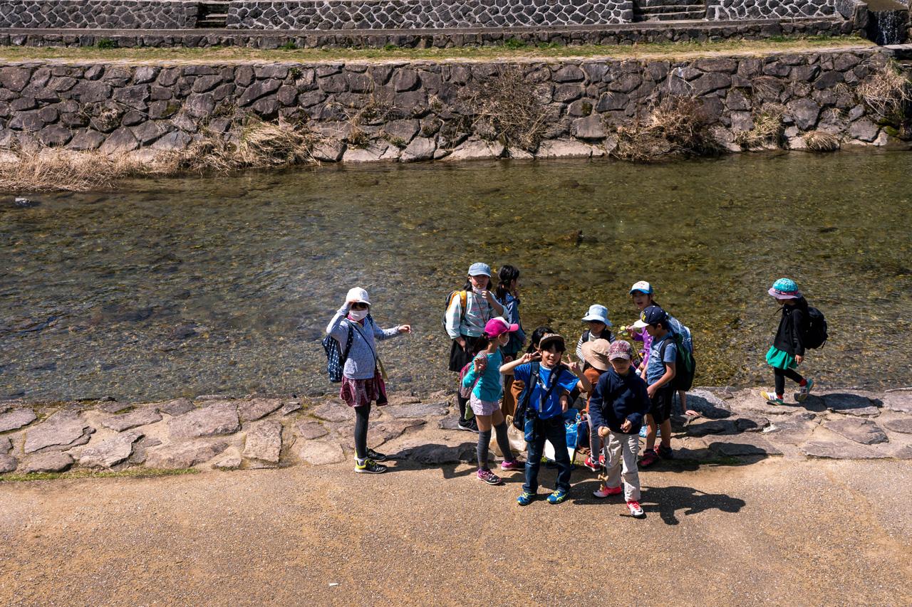 School children in Takayama