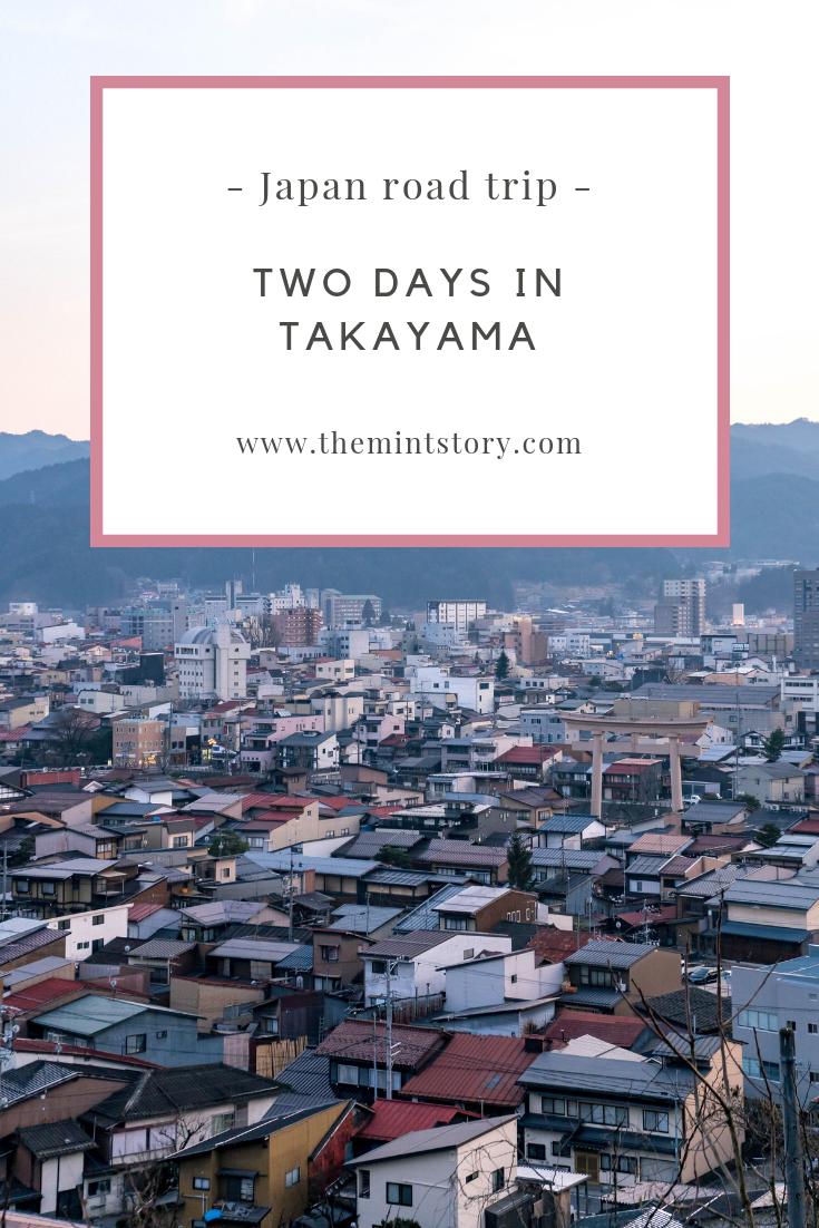 Two days in Takayama