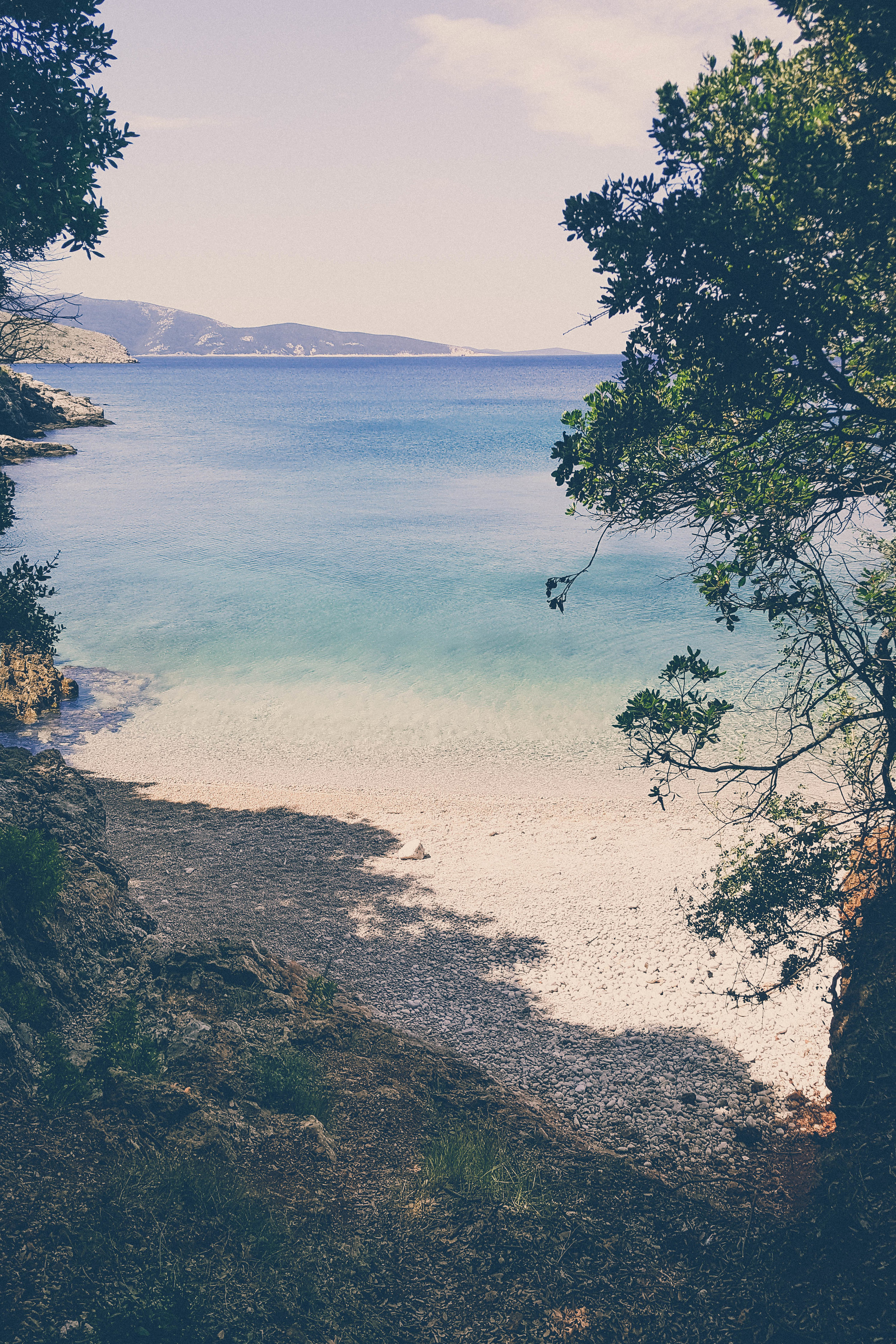 Ustrine beach, Cres