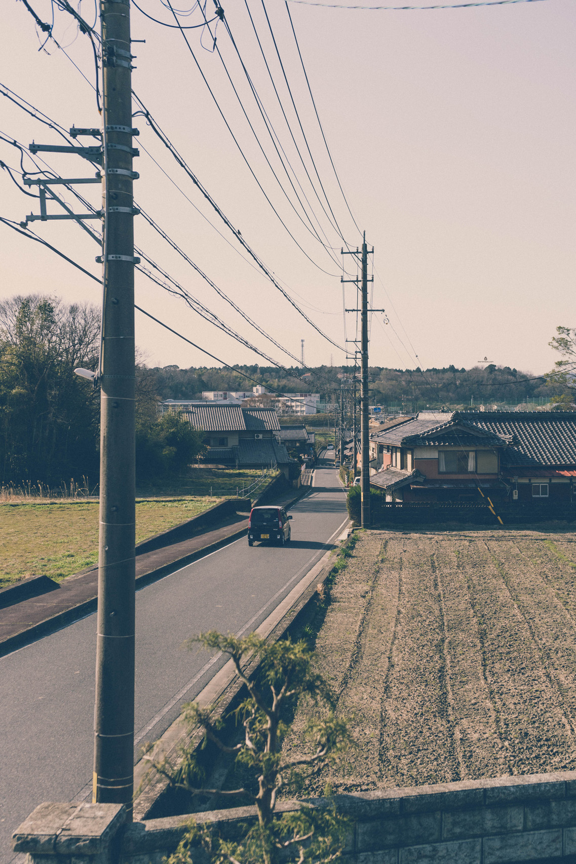 On the street in Iga, Mie prefecture