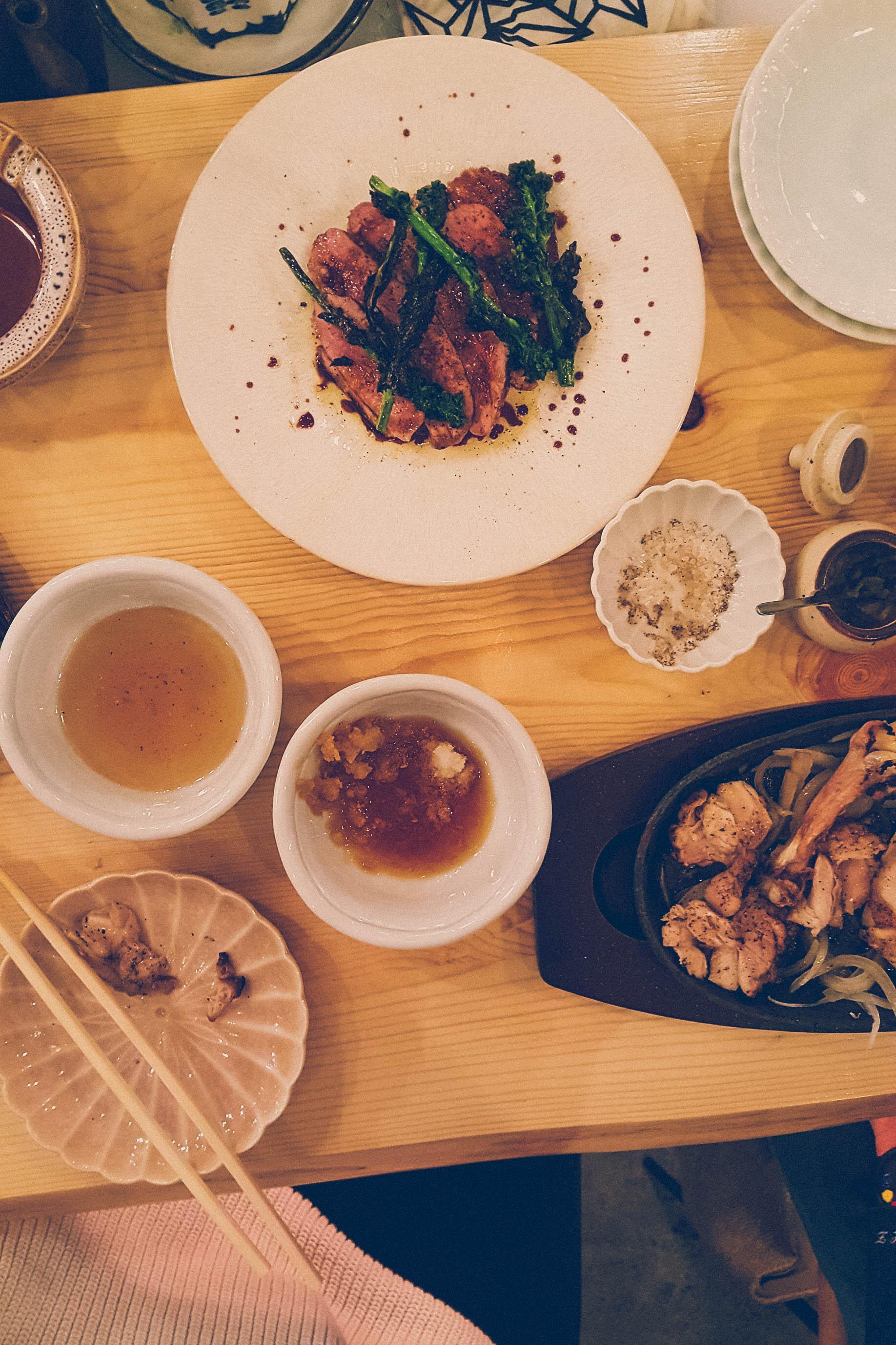 Dinner in Okayama