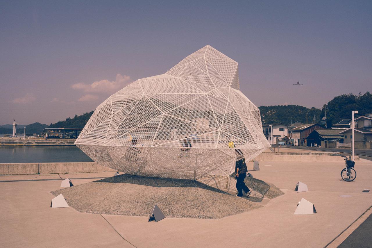 Sou Fujimoto Naoshima pavilion
