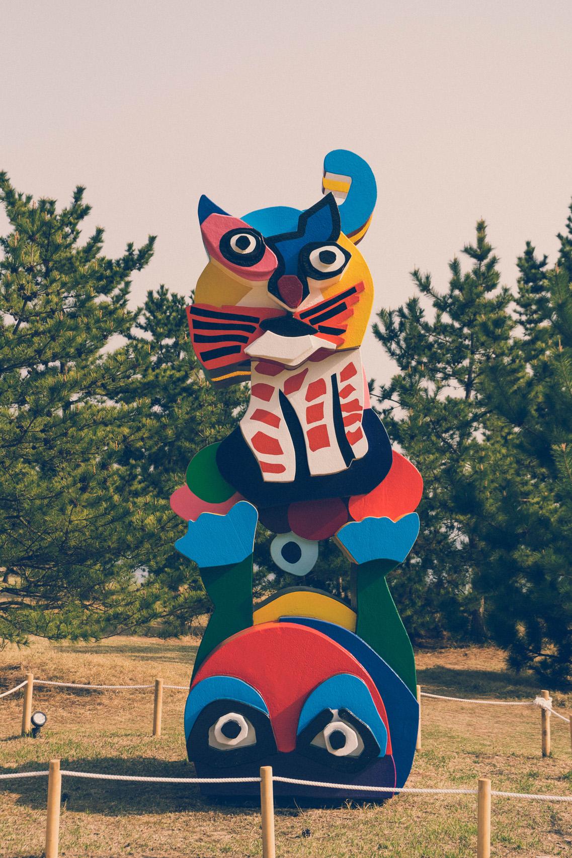 Niki de Saint Phalle's sculpture, Naoshima
