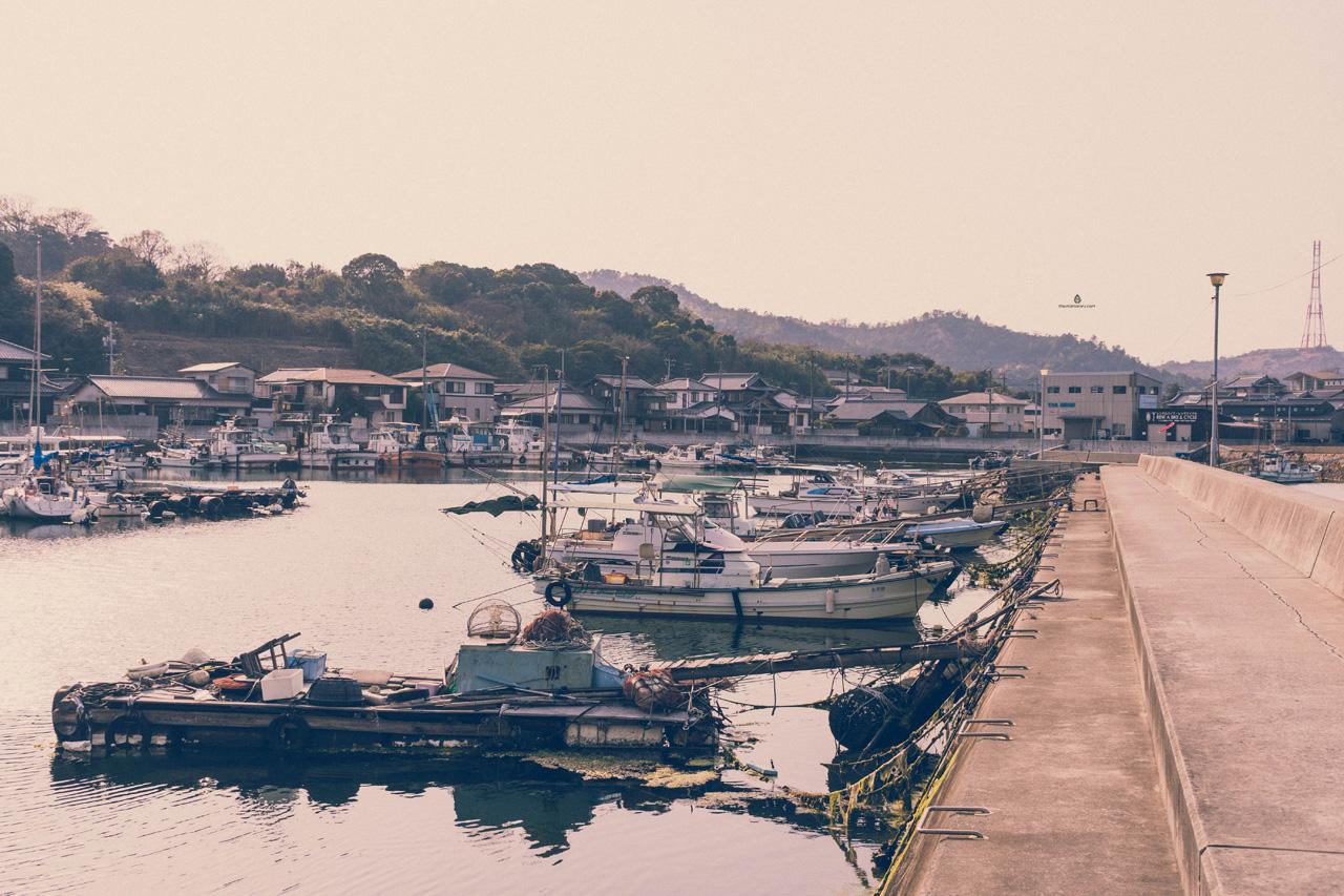 Honmura port, Naoshima