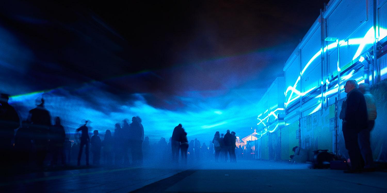 Waterlicht door studio Roosegaarde