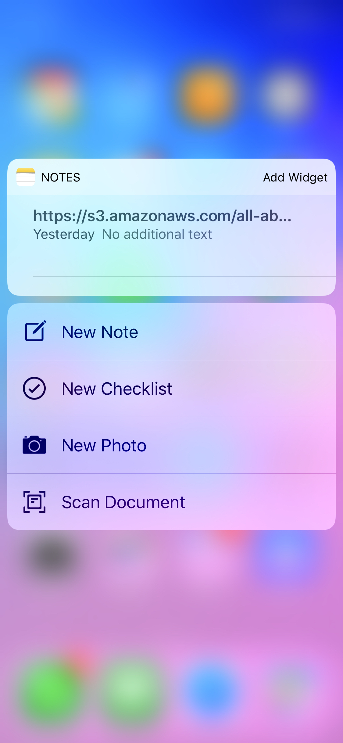 Using the iOS Notes app as a PDF Scanner