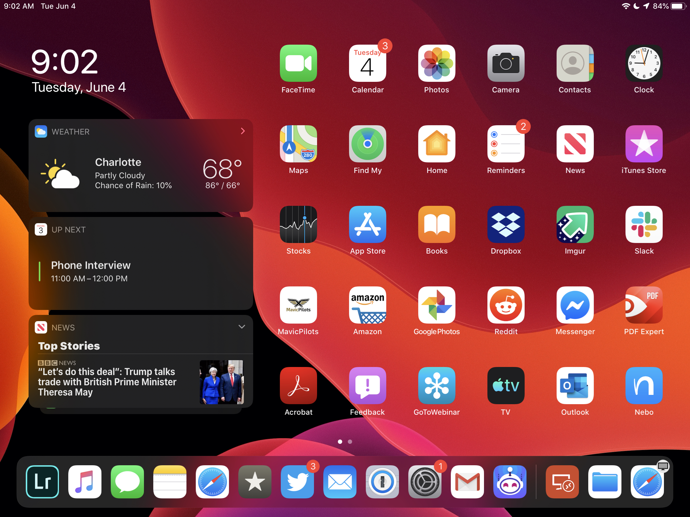 Dark Mode in iPadOS and iOS 13