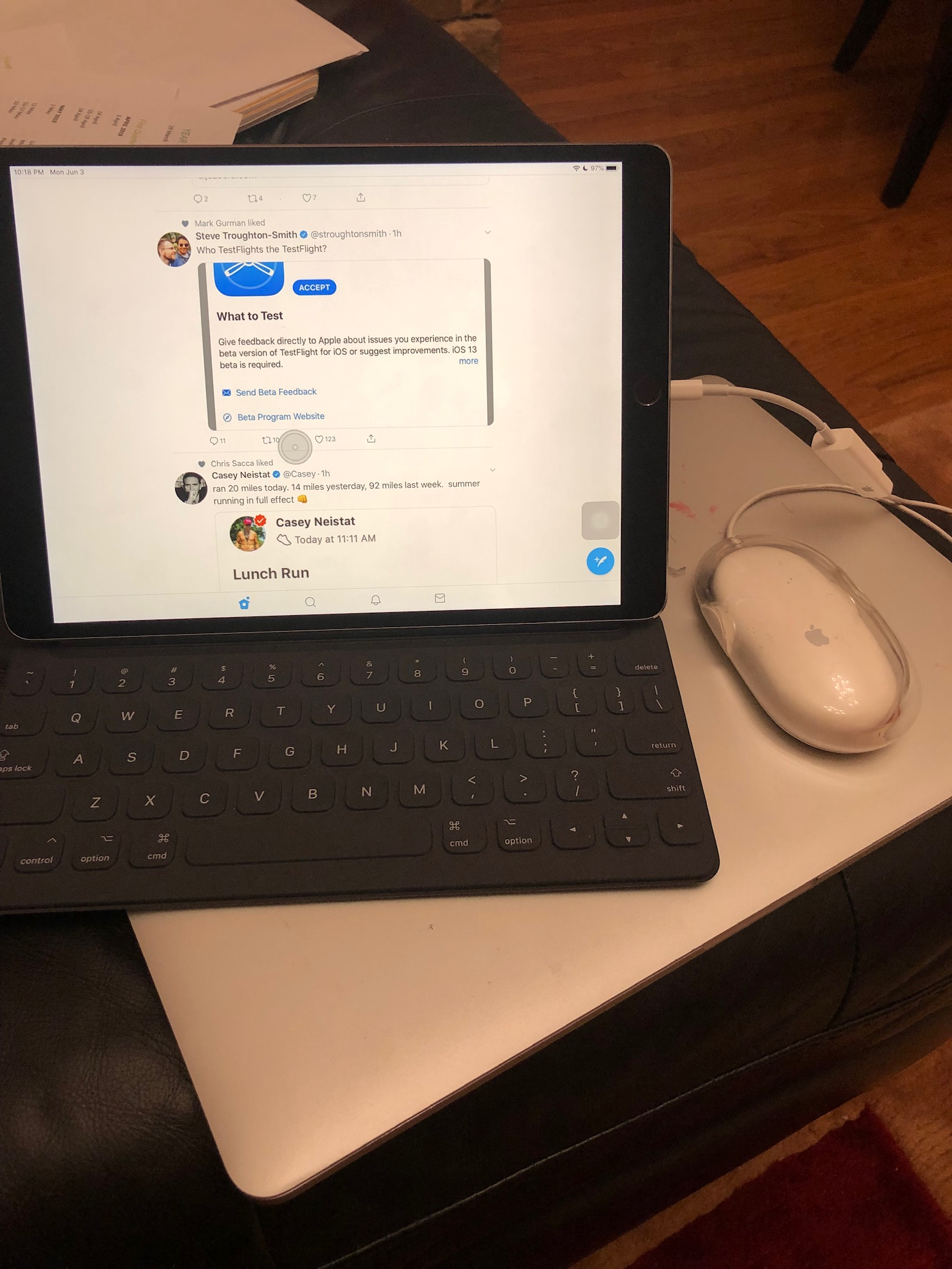 Mouse Support Comes to iPadOS