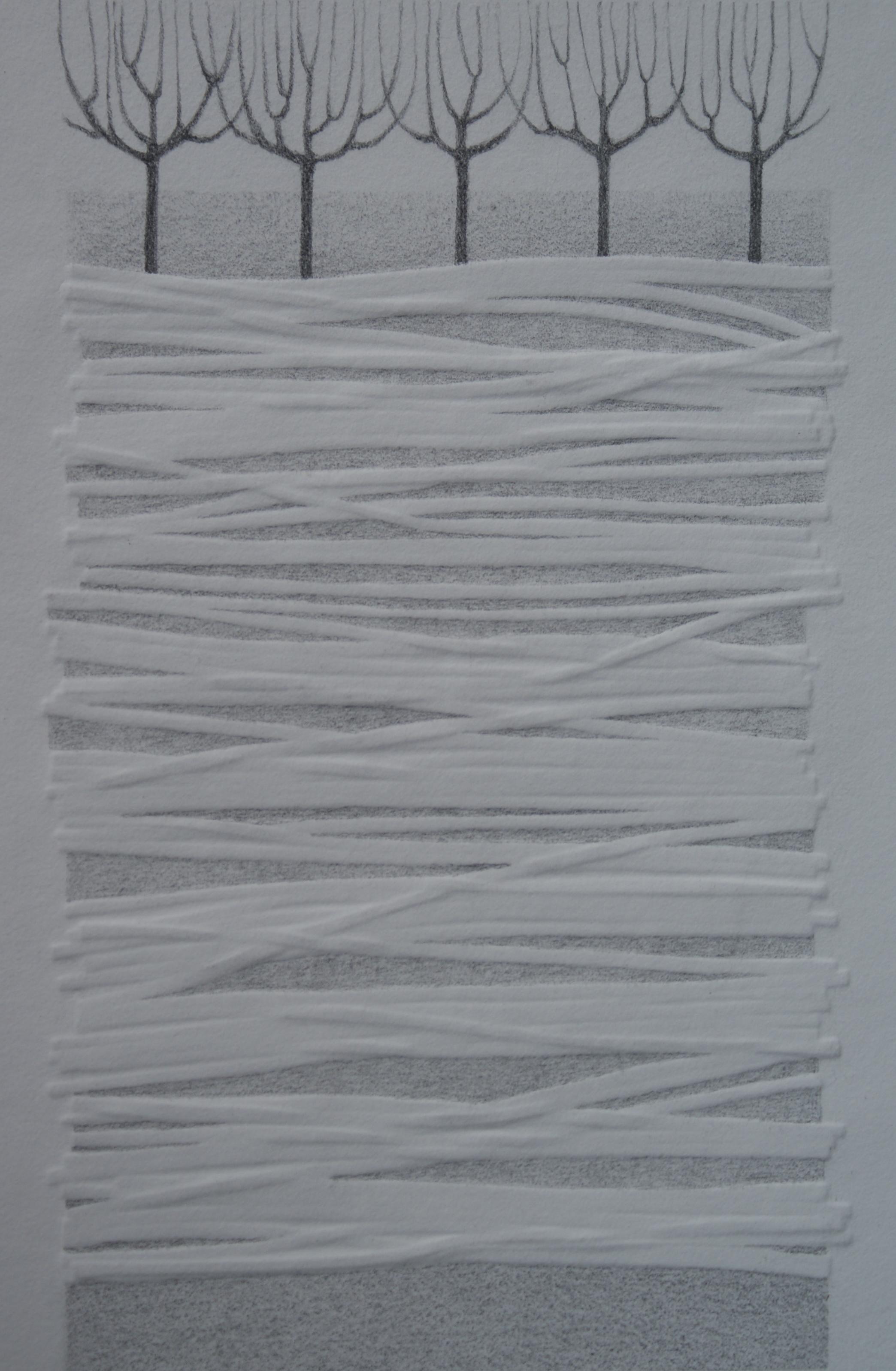 Akker II, 2016 (blinddruk, potlood) 20 cm x 30 cm