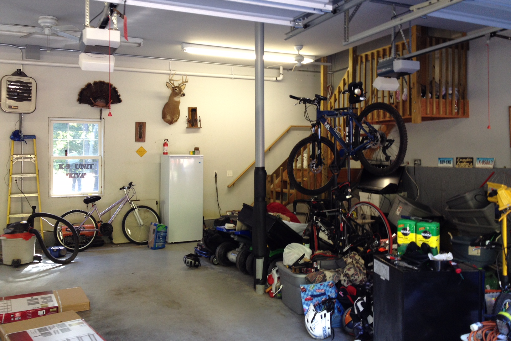 The garage before  D Organizing ...