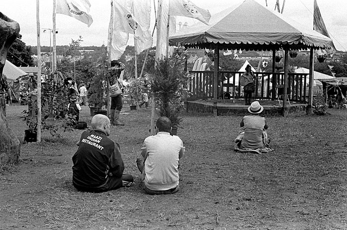 The bandstand. STUNICGLAST009